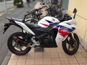 Honda CBR125R Akrapovic