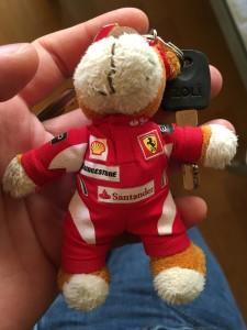 Ferrari key holder