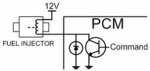 Fuel Injection Circuit Zener Diode