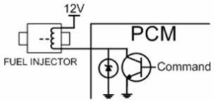 Fuel Injection Circuit Zener Diode
