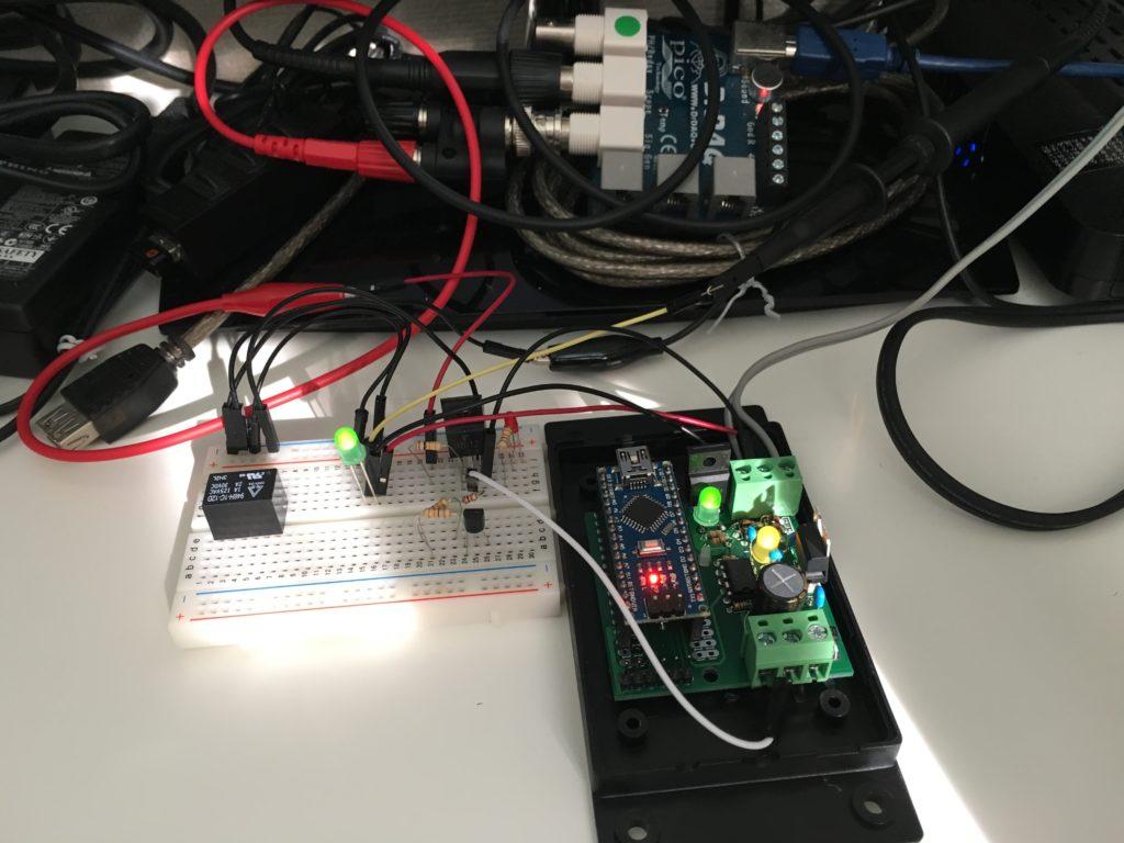 Fuelino proto1 testing on desk