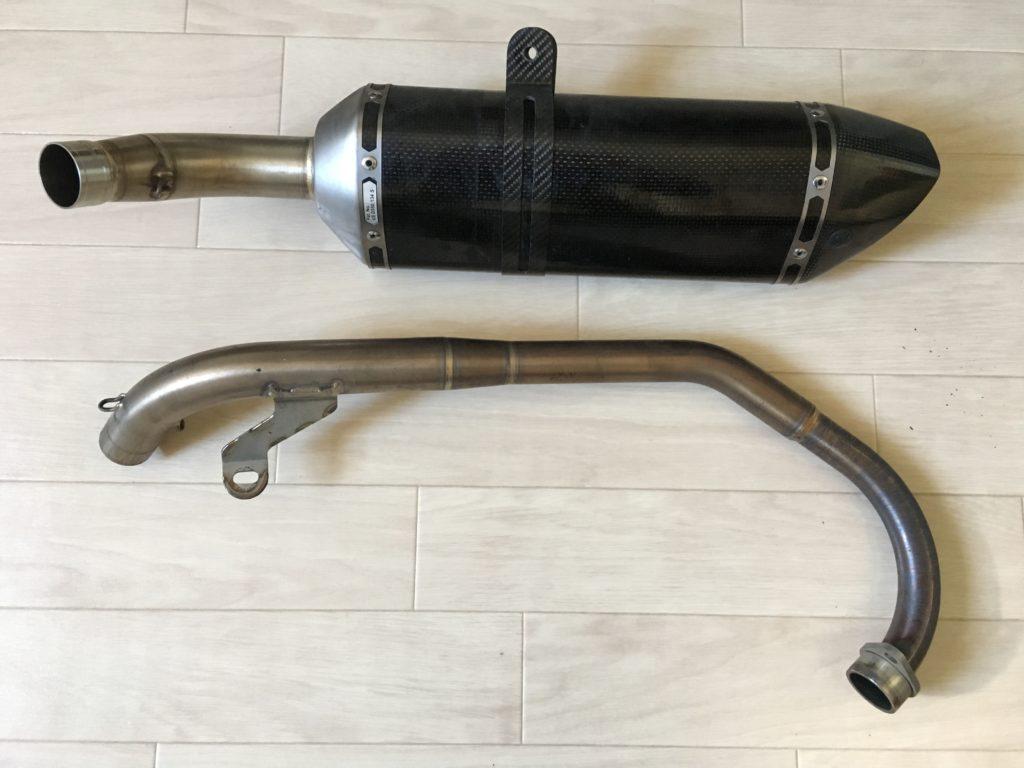 Selling Akrapovic Racing Exhaust For Honda Cbr125r