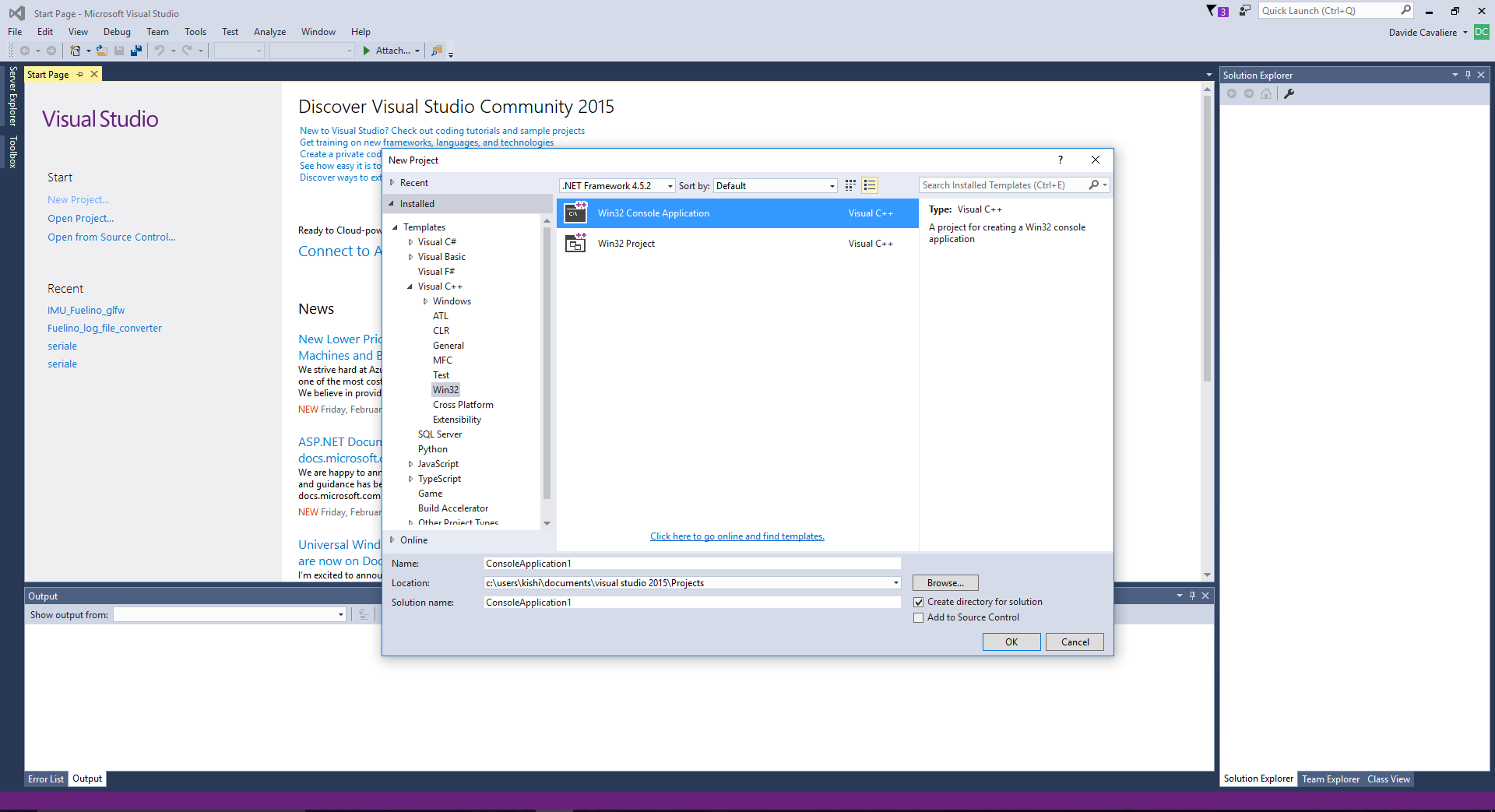 How to install GLFW library on Visual Studio C++ 2015