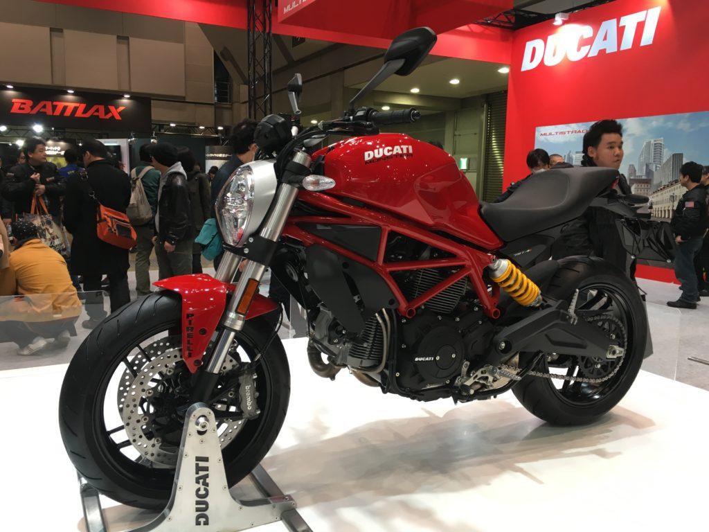 Tokyo Motorcycle Show 東京モーターサイクルショー 2017 Ducati 797
