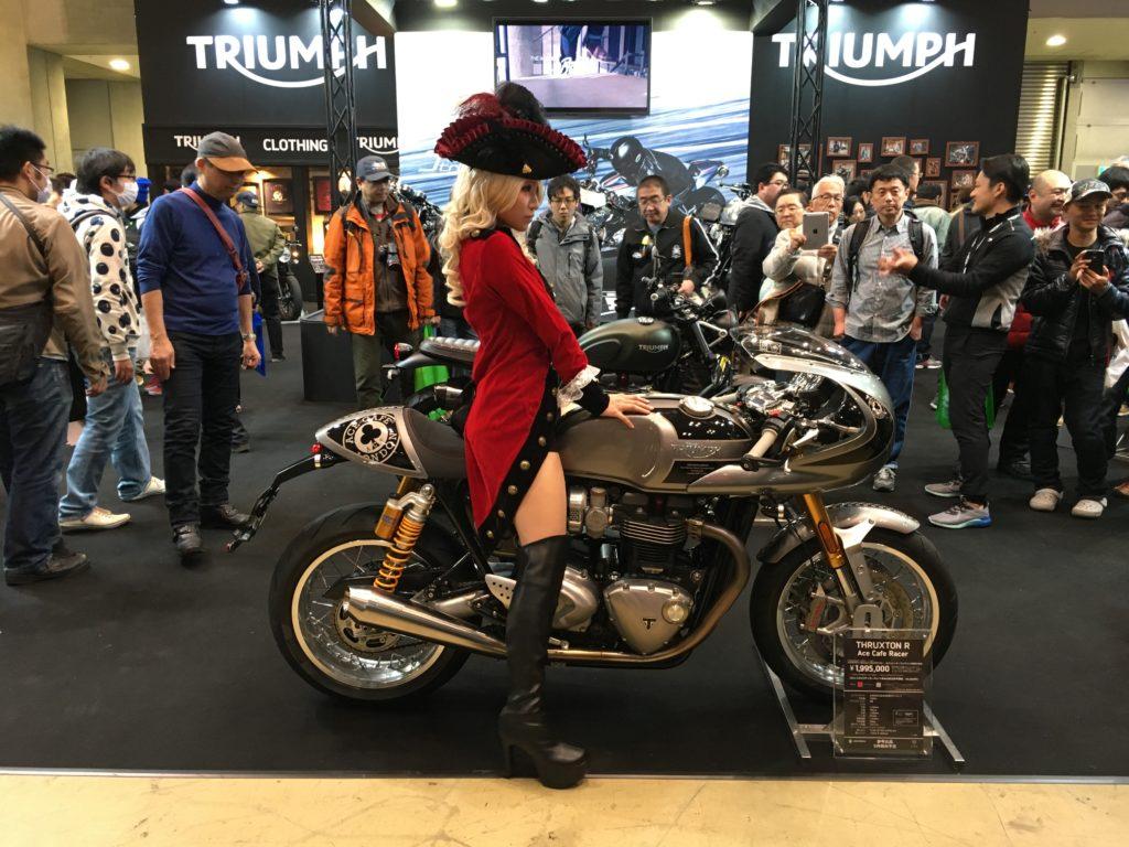 Tokyo Motorcycle Show 東京モーターサイクルショー 2017 Triumph