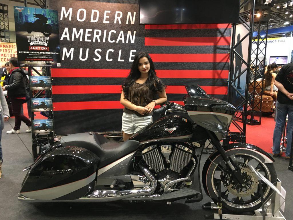 Tokyo Motorcycle Show 東京モーターサイクルショー 2017 Indian Motorcycles