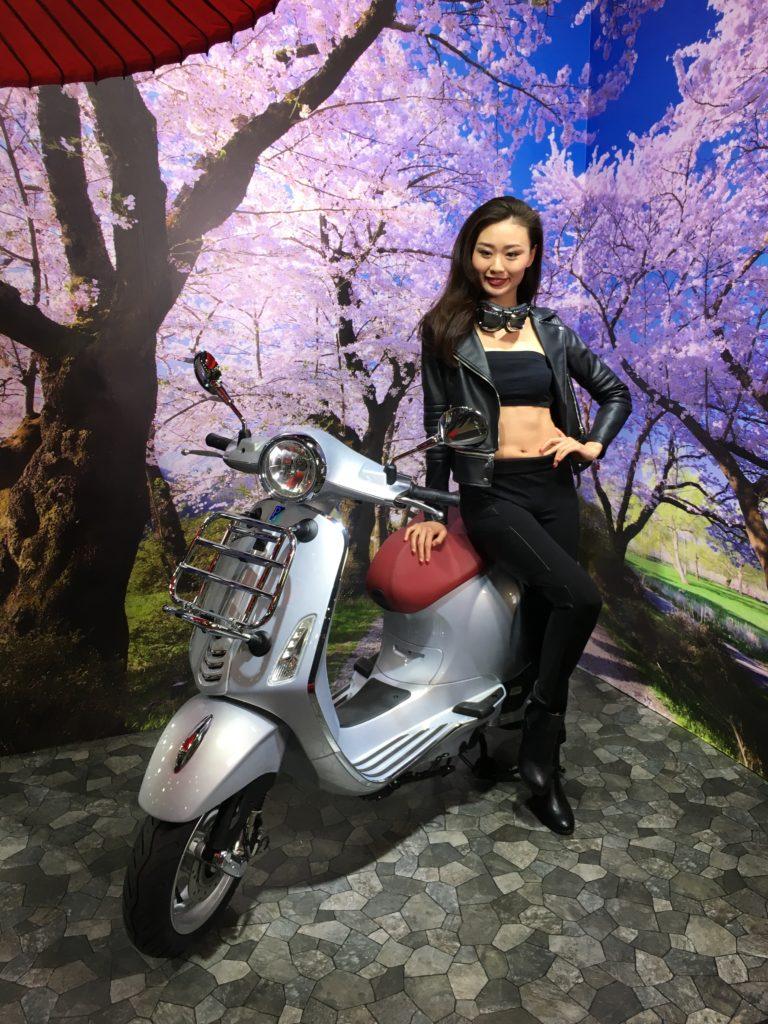 Tokyo Motorcycle Show 東京モーターサイクルショー 2017 Piaggio Vespa