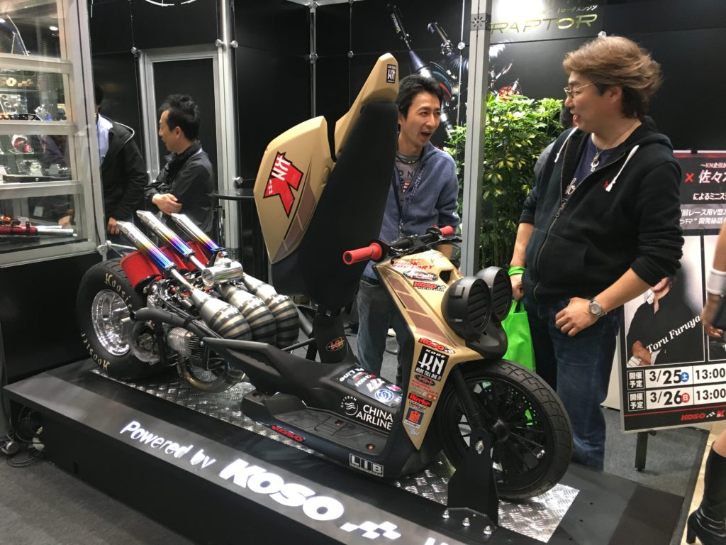 Tokyo Motorcycle Show 東京モーターサイクルショー 2017 crazy 2 stroke