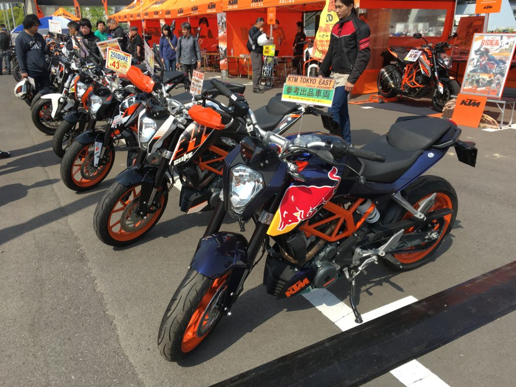 KTM Test Ride Odaiba 2