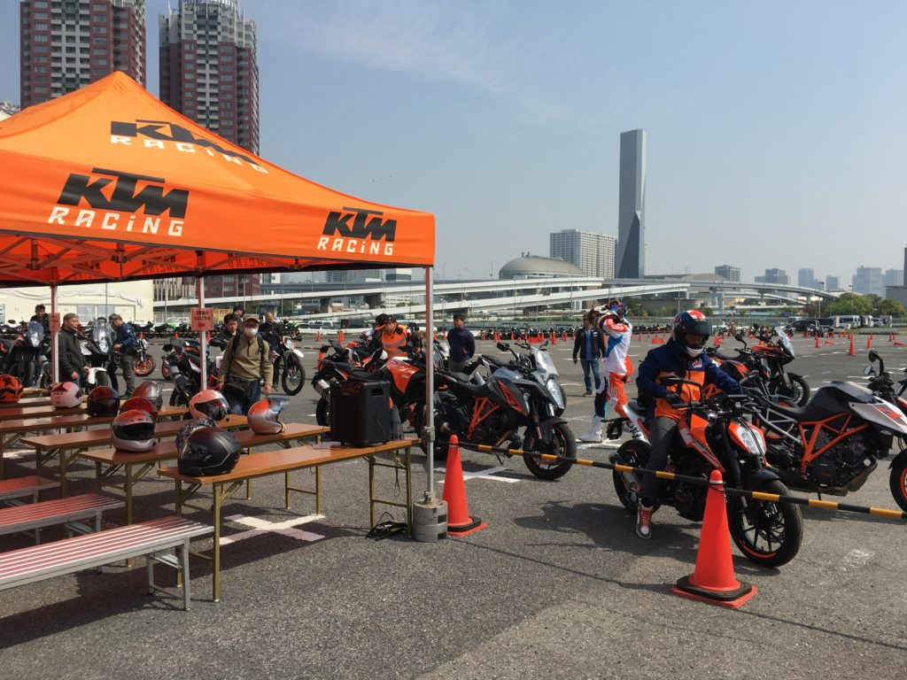 KTM Test Ride Odaiba 7