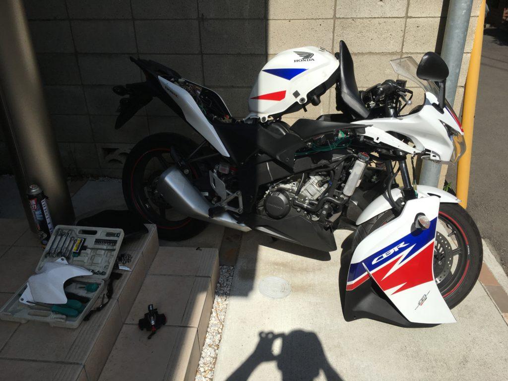 Honda CBR125R Akrapovic 1