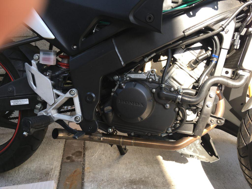 Honda CBR125R Akrapovic 4
