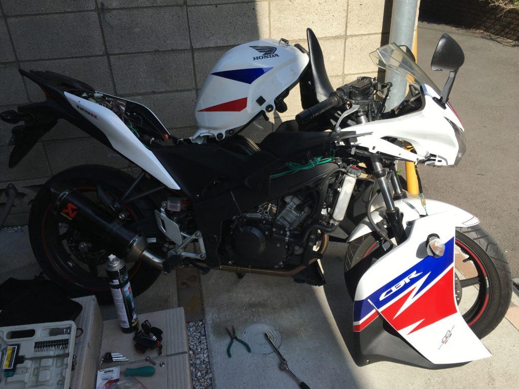Honda CBR125R Akrapovic 5