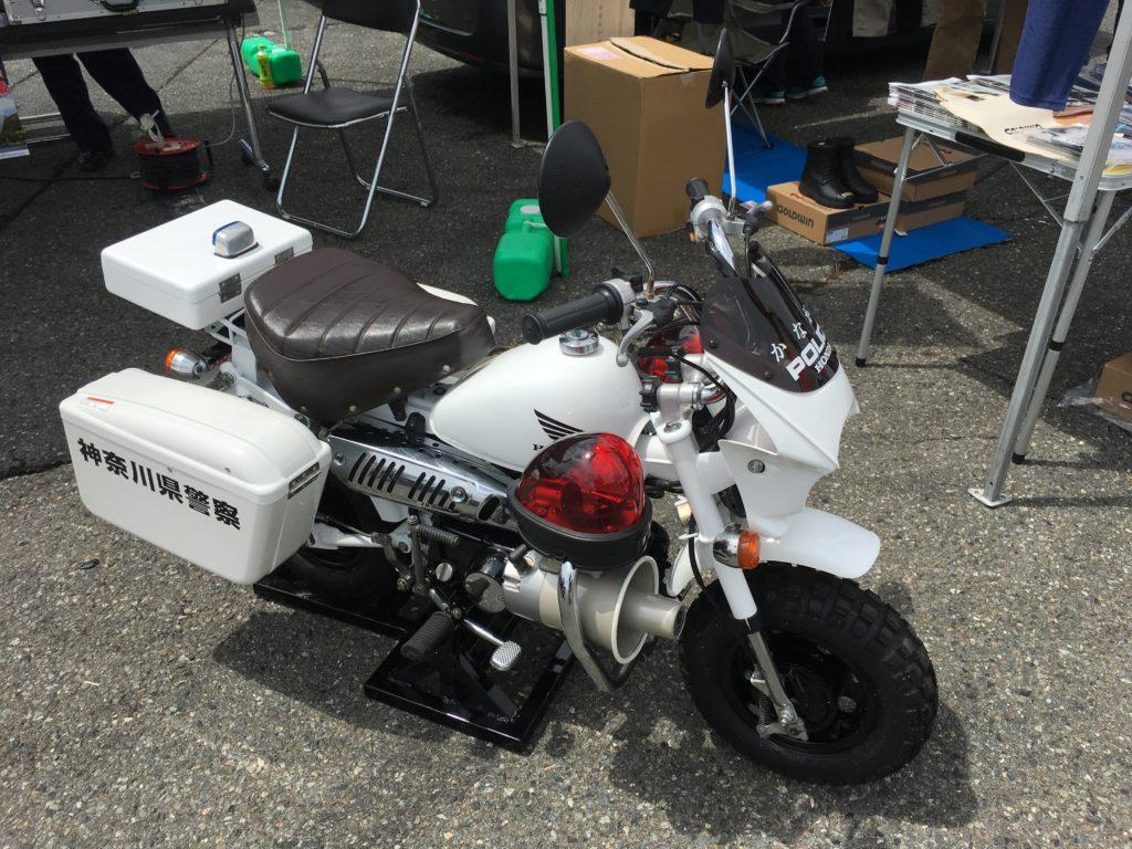 Honda Monkey Police Japan