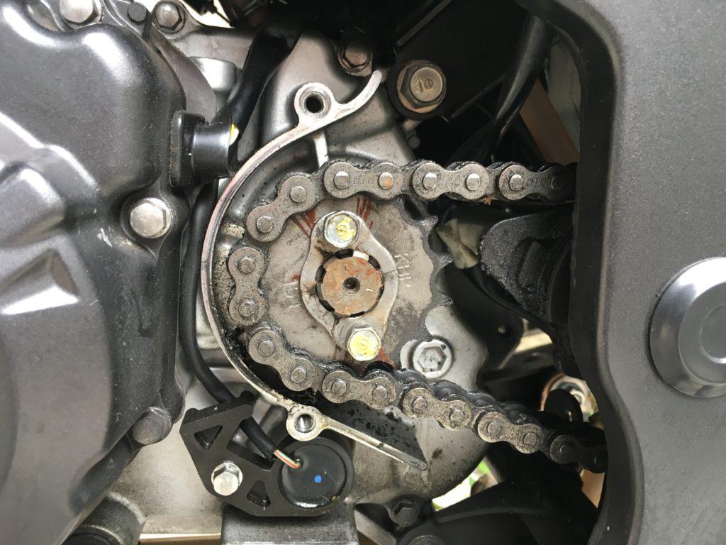 XAM C3108-17T sprocket Honda CBR125R 6