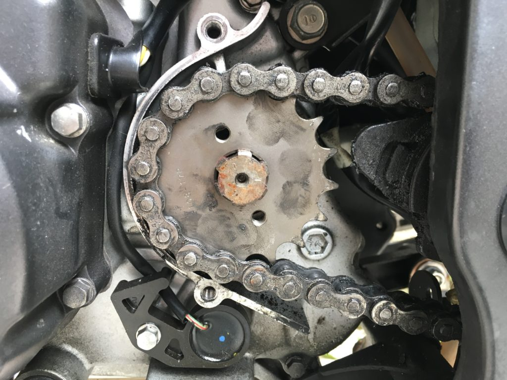 XAM C3108-17T sprocket Honda CBR125R 8
