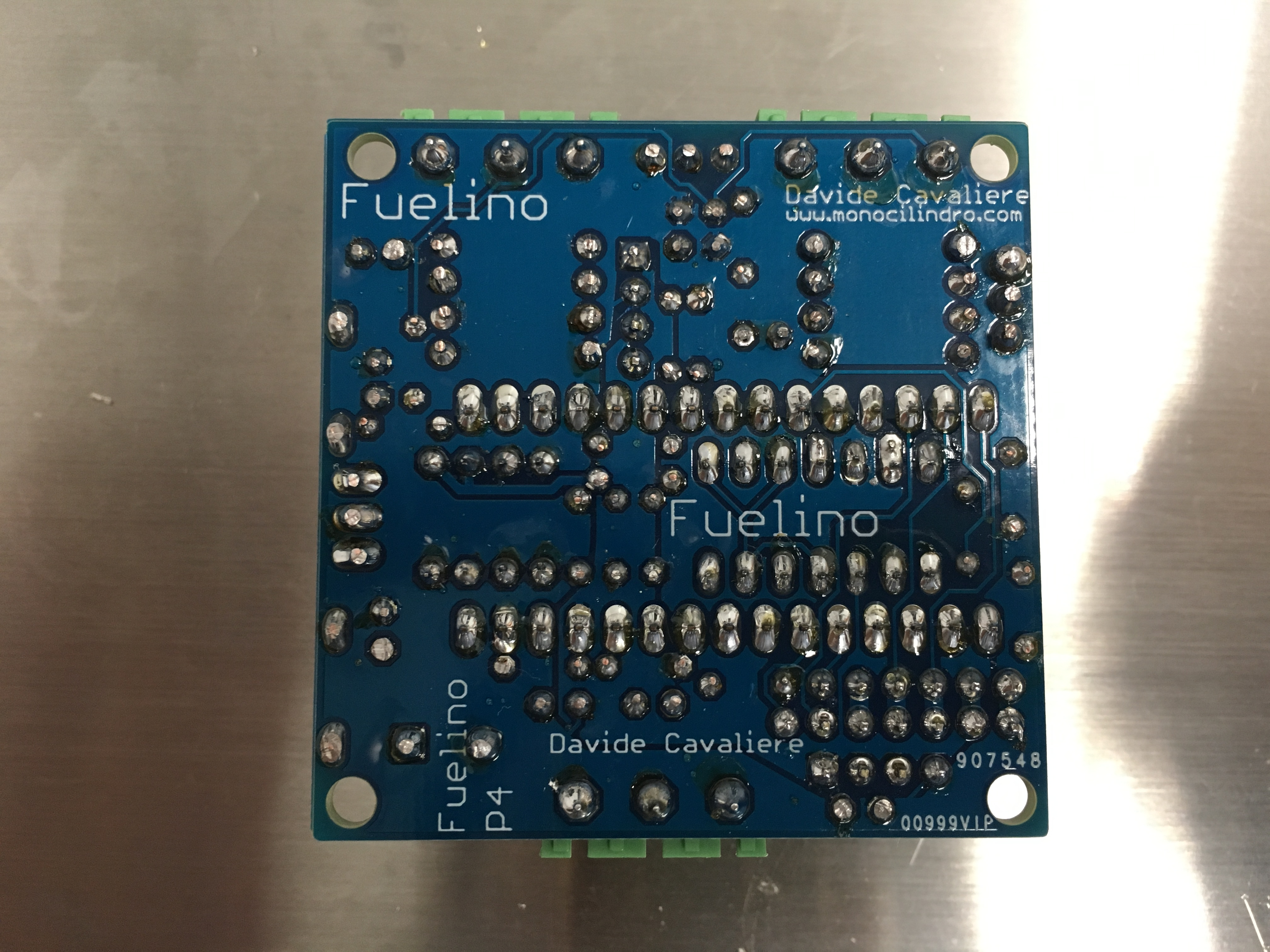 Fuelino Project - motorcycle open source data logger and fuel
